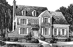Southern Living custom home plan - Tally House