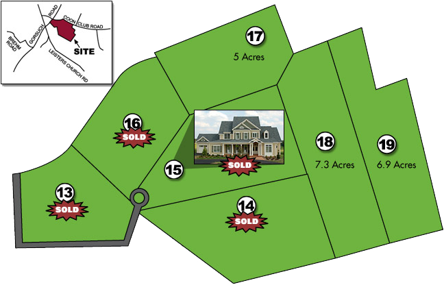 Trident Acres - Custom Build homes in Westminster, Carroll County, MD