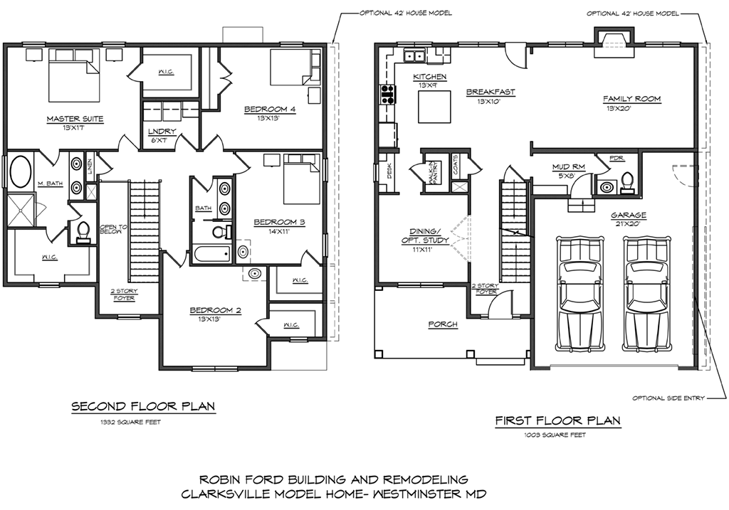 Robin ford building remodeling sample floor plans in Bad floor plans examples